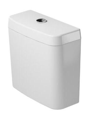 Duravit, D-Code WC tartály, króm nyomógombos, 0927000004