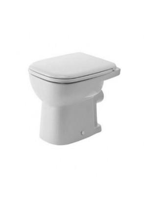 Duravit, D-Code álló WC, síköblítés, hátsó kifolyás, 21090900002