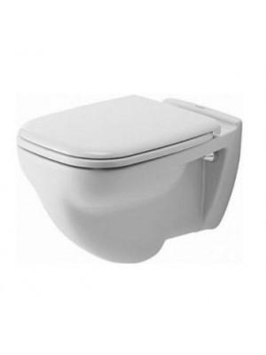 Duravit, D-code Fali WC, síköblítés, 22100900002