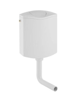 Geberit, AP116 alacsonyra szerelhető falon kívüli öblítőtartály / WC tartály 136.430.11.1