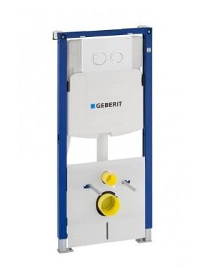 Geberit, Duofix WC szerelőelem fali WC részére Sigma (UP320) öblítőtartállyal, nyomólappal 111.301.KJ.5