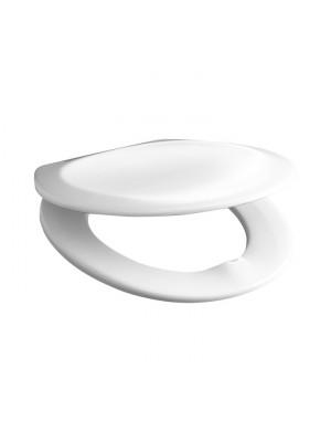 Jika, ZETA WC ülőke tetővel, azélzsanérral, Duroplaszt, antibakteriális H8933703000631