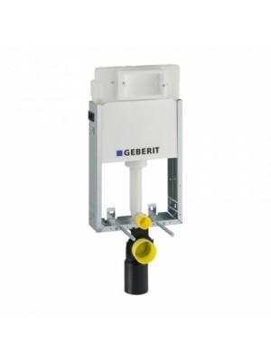 Geberit, Kombifix WC szerelőelem fali WC részére (UP100) öblítőtartállyal, 110.100