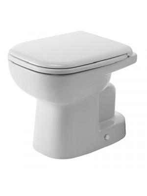 Duravit, D-Code álló WC, mélyöbítés, alsó kifolyás, 21100100002