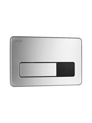 Jika, PL3-E Single Flush, Nyomólap, automatikus, infraérzékelővel, inox H8906560000001 I.o.