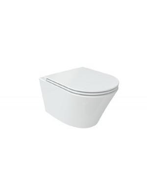 Wellis, Clement WC, fali, rimless / perem nélküli WF00016 I.o.