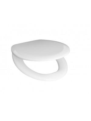 Jika, ZETA WC ülőke tetővel (duroplaszt) műanyag zsanérral H8932740000001 I.o.