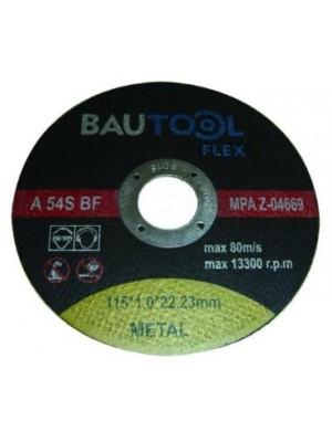 Bautool vágótárcsa fémhez 115*1.0 mm
