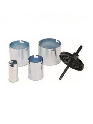 Csempelyukfúró készlet 6 részes vídiás (33,53,67,73mm)