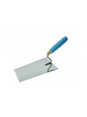 Kőműveskanál rozsdamentes 110x180mm (inox)
