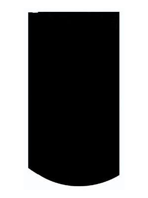 Creaton, Róna fekete matt hornyolt alapcserép