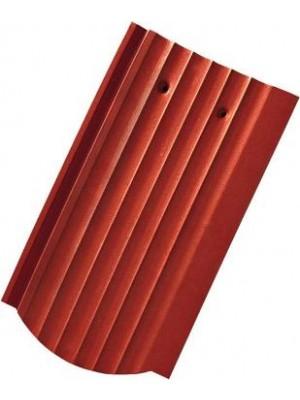 Tondach, hornyolt hullámos piros alapcserép