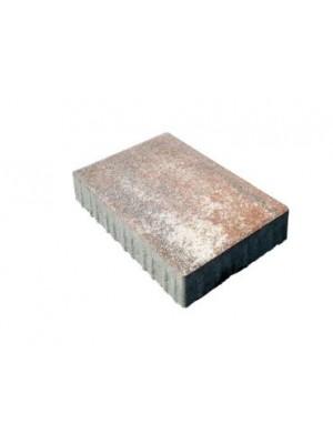 Leier, Taverna Terra melírozott térkő, 10x20, 20x20 és 20x30 cm, 6 cm vastag, vegyesen csomagolva