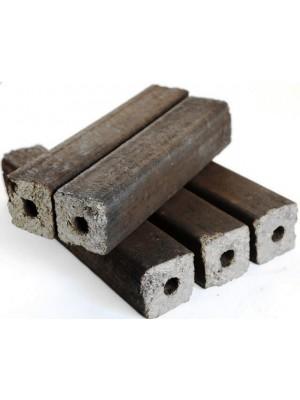 Napraforgóhéj brikett hengeres négyszögletű, Pini Kay, 9,5 kg/csomag