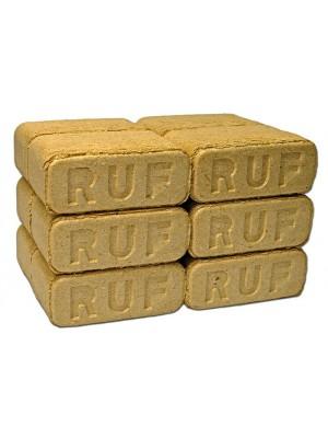 Fabrikett ( 90% Tölgy, 10% Fenyő, keményfa ) kocka alakú, RUF tipusú, 12 db 10 kg-os csomagolásban