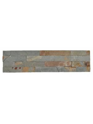 Falburkoló (valódi, természetes, hasított kőlapok táblákra ragasztva), Basilicata CS003, 15*60 cm I.o.