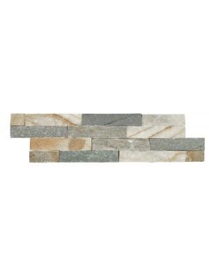 Falburkoló (valódi, természetes, hasított kőlapok táblákra ragasztva), Calabria CS069, 10*35 cm I.o.