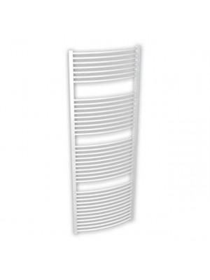 BRH Helidor, Íves törölközőszárító radiátor, fehér, 600/1490