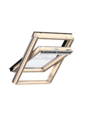 Velux, Tetőtéri ablak GZL 1051 MK10 78x160 cm, 2-rétegű üveg