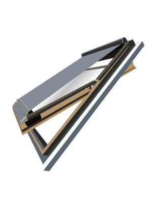 Utángyártott külső hővédő roló, 78x140 cm (Velux MK08, M08 78x140 cm-es ablakhoz)