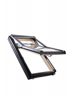 Roto, Tetőtéri ablak, WDF R79 H WD, 3-rétegű üveggel, Hőszigetelő Csomaggal, 114x140 cm (11/14)