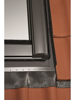 Roto, Burkolókeret profilos tetőfedéshez, EDR Rx WD 1x1 ZIE AL, 114x118 cm (11/11)