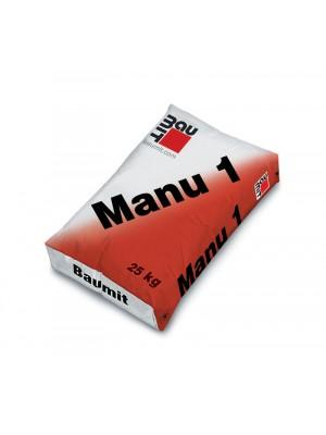 Baumit, Manu 1, mész-cement alapvakolat, kézi felhordásra, 25 kg