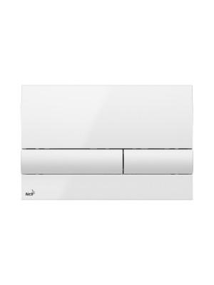 Alcaplast, M1710 fehér nyomólap falba építhető tartályhoz