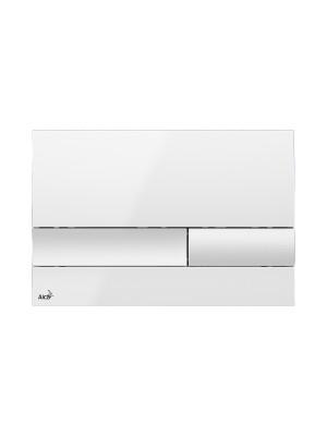 Alcaplast, M1730 fehér nyomólap falba építhető tartályhoz