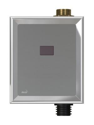 Alcaplast, ASP3 Automata WC öblítő, króm (12 V hálózati csatlakozás)