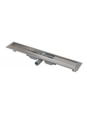 Alcaplast, APZ106 Professional Low Zuhanyfolyóka, peremmel, tömör rácsokhoz, 650 mm