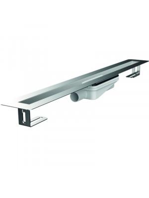 ACO, Solid résfolyóka (S-line), vízszintes lefolyóval, 64*800 mm, 9010.75.11