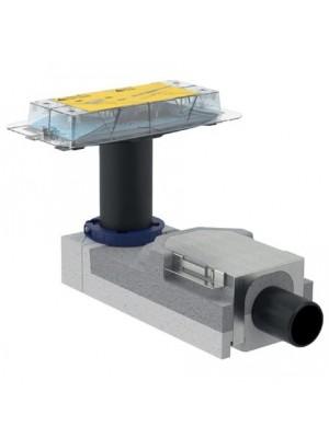 Geberit, beépítő alapkészlet zuhanyfolyókához,  90-200 mm magasságig, 154.150.00.1