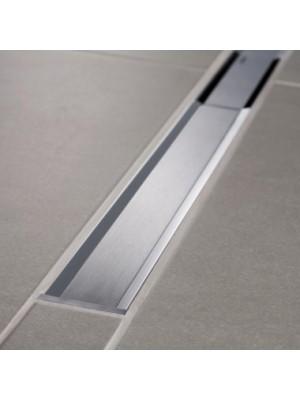Geberit, CleanLine 20 zuhanyfolyóka, fényes, szálcsiszolt rozsdamentes acél 154.450.KS.1