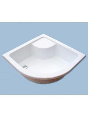 Ravak, Sabina zuhanytálca (minikád), 80*80 cm