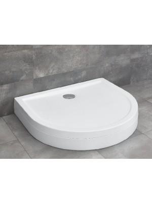 Radaway, Delos P zuhanytálca lábbal, 100*90 cm