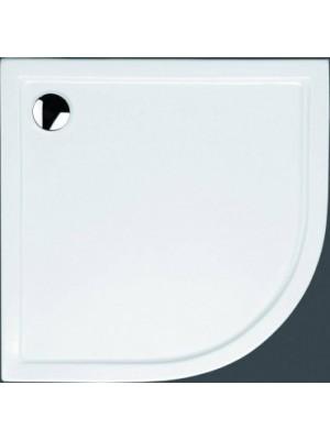 Hüppe, Xerano acryl íves zuhanytálca 900x900x60(R500)előlap és láb nélkül Nr. 840401.055