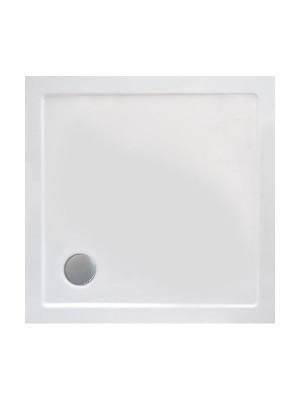 Wellis, SMC lapos szögletes zuhanytálca, WC00408, 90*90 cm