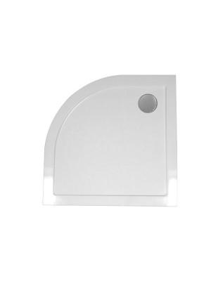 Wellis, SMC lapos, íves, zuhanytálca WC00411, szifonnal 80*80*4 cm