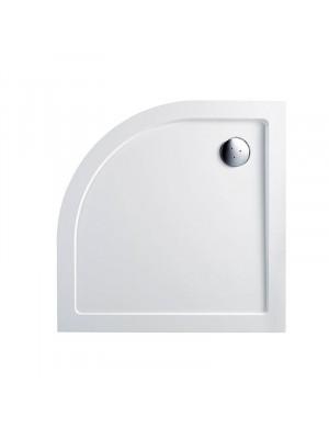 Wellis, SMC lapos, íves, zuhanytálca WC00407, szifonnal 90*90*4 cm