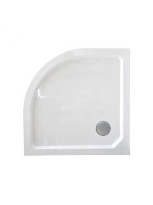 Wellis, SMC magas, íves, zuhanytálca WC00410, szifonnal 80*80*14 cm