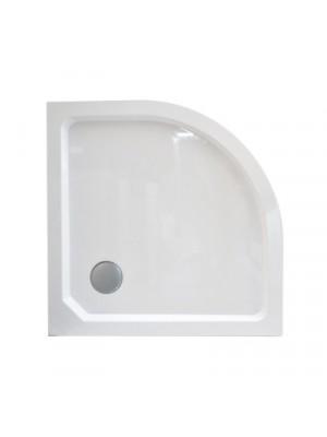 Wellis, SMC magas, íves, zuhanytálca WC00405, szifonnal 90*90*14 cm