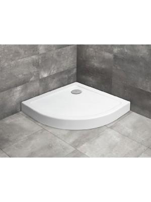 Radaway, Doros Stone A, előlappal, zuhanytálca + ST90 szifon, 80*80 cm I.o