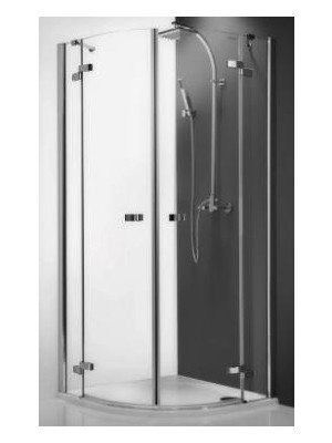 Roltechnik, GR2 Elegant Line, 100*100 cm, íves zuhanykabin