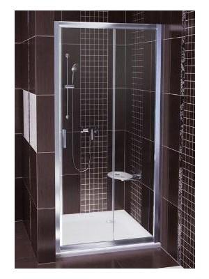 Ravak, Blix BLDP2-120 zuhanyajtó, 120 cm, toló rendszerű, kétrészes