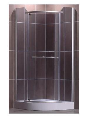 Roltechnik, Denver /  Monaco 900, zuhanykabin, íves, tálca nélkül, 90*90 cm