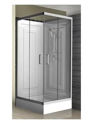 Wellis, Mobili zuhanykabin tálcával, szögletes 90*90 cm I.o.