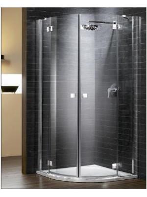 Radaway, Almatea PDD zuhanykabin, íves, 80*80 cm