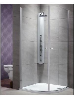 Radaway, EOS PDD zuhanykabin, íves, 80*80 cm