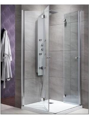 Radaway, EOS KDD-B zuhanykabin, szögletes, 100*90 cm